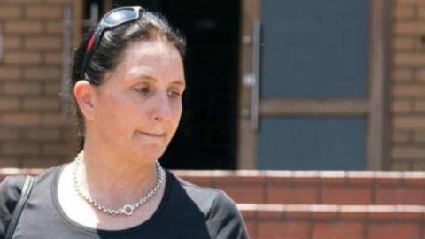 Vicki Momberg sentenced for racial rant against black officer.