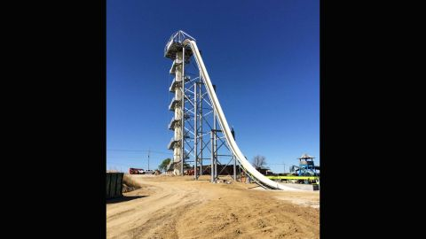 The Verruckt water slide at Schlitterbahn in Kansas City will be dismantled.