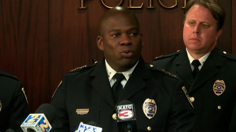 """Baton Rouge police Chief Murphy Paul says, """"Our police officers are held to a higher standard."""""""