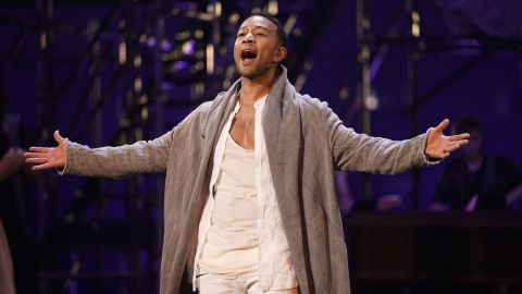 """John Legend stars as Jesus in NBC's Easter 2018 live production of the musical """"Jesus Christ Superstar."""" Jesus has been portrayed by a variety of actors throughout the years."""