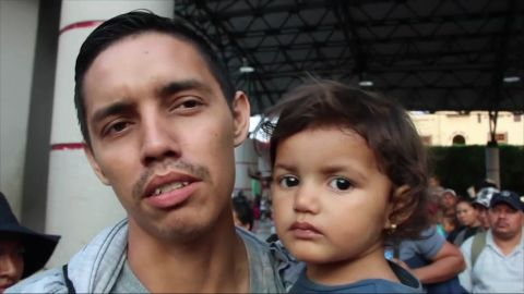 Honduran immigrant Misael Bonilla says widespread crime forced his family to flee.