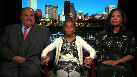 """Yolanda Renee King told ABC grandfather Martin Luther King Jr. would recognize """"we're not where we're supposed to be"""" were he alive today."""