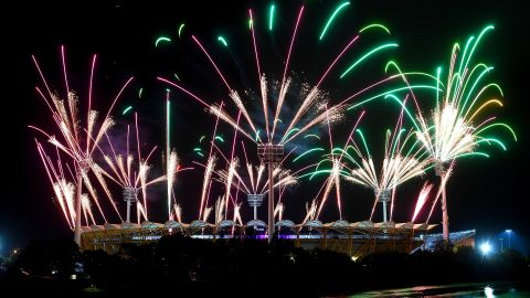 No opening ceremony would be complete without a firework display.