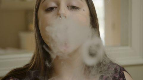 Twenty-year-old Bella Kacoyannakis started vaping when she was still in her teens.