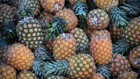 Nearly all the pineapples tested -- 90% -- showed no residual pesticides, while just five pesticides could be detected on any of the samples. For these reasons, pineapples fill position three on the clean list.