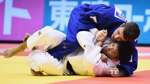 """A national champion in all age categories, Margelidon proved his credentials on the international stage with a silver medal at the 2017 Tokyo Grand Slam. """"I started judo at the age of six. It was a way to express all the energy I had when I was a kid,"""" the lightweight judoka told CNN. """"They teach you about respect and fair play. It's really a moral sport, not only a sport to win medals. I would tell people that it's a good thing to try."""""""