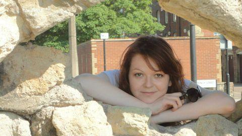 An image taken from Facebook of Yulia Skripal, daughter of former Russian spy Sergei Skripal.