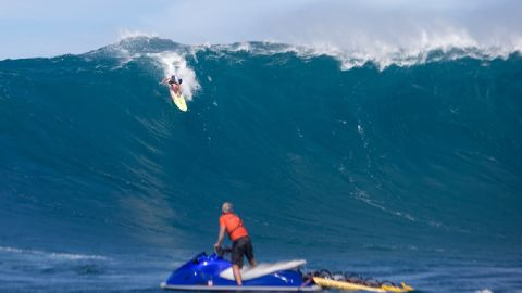 """One of the world's most popular destinations for big wave surfing and wind surfing, """"Jaws"""" attracts some of the most talented stars from across the globe."""