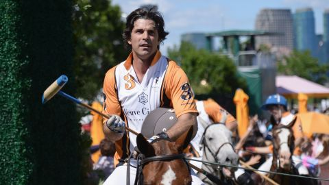 Nacho Figueras, seen at a polo match in New Jersey in 2017, is an ambassador for Sentebale.