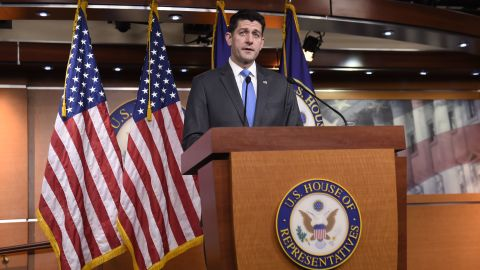 Speaker of the House Paul Ryan announces his retirement during a press conference on Capitol Hill in Washington, DC, April 11, 2018.  (SAUL LOEB/AFP/Getty Images)