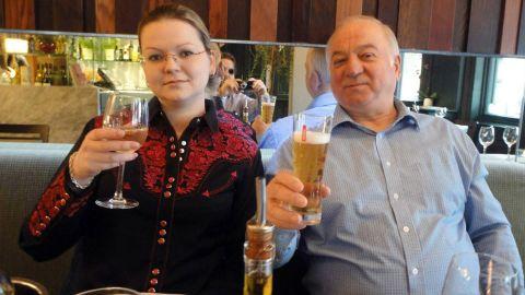 Skripal and his daughter, Yulia.