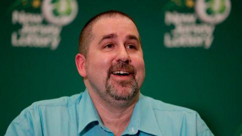 Richard Wahl, 47, scored the winning ticket to the $533 million Mega Millions jackpot.