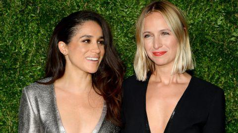 Markle and Misha Nonoo attend the 12th annual CFDA/Vogue Fashion Fund Awards  in New York City in 2015.