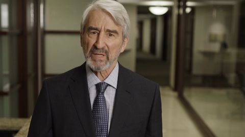 """""""Law & Order"""" star Sam Waterston is in a new video calling for people to protest the potential firing of Rod Rosenstein"""