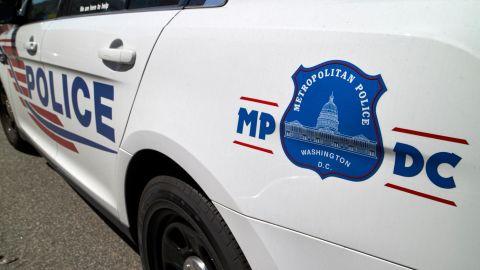 Stock Photo - Washington DC metropolitan police patrol vehicle USA