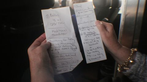 The shuttle riders carry long lists of dispensary requests for friends.