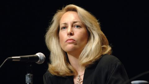 NEW YORK - JUNE 2:  Former CIA covert agent Valerie Plame Wilson speaks at the Saturday Book and Author Luncheon at the Book Expo at the Jacob Javits Center June 2, 2007 in New York City.  (Photo by Brad Barket/Getty Images)