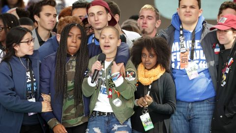 Democrats have invited survivors of school shootings to Capitol Hill to participate in an internship program.