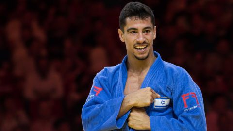 Israel's Tal Flicker says he hopes sport can build bridges ahead of this week's European Judo Championships in Tel Aviv.