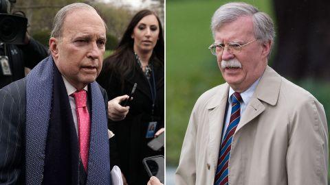 Larry Kudlow and John Bolton