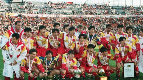 The Frenchman joined Arsenal in 1996 after managing Japanese club Nagoya Grampus Eight. Twenty years after his brief stay in Japan, Wenger's influence still echoes, following its rise from a backwater of world football to one of its emerging powers.