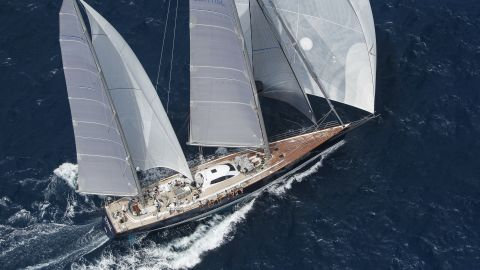 Sojana might exude luxury but she is fast too, having crossed the Atlantic in nine days and 10 hours. She can reach speeds of 20 knots downwind.