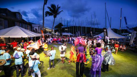 More than 1,000 sailors enjoy local hospitality during Antigua Sailing Week.