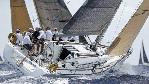 English Harbour buzzes with sailors from 30 nations during the week.