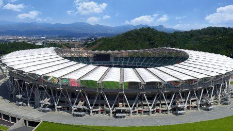 <strong>What:</strong> Shizuoka Stadium Ecopa<br /><strong>Capacity:</strong> 50,889<br /><strong>Where:</strong> Shizuoka Prefecture<br /><strong>Matches:</strong> Japan vs Ireland; South Africa vs Italy; Scotland vs Romania; Australia vs Georgia
