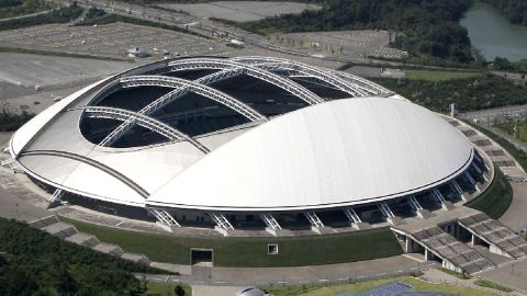 <strong>What: </strong>Oita Stadium<br /><strong>Capacity:</strong> 40,000<br /><strong>Where: </strong>Oita Prefecture<br /><strong>Matches: </strong>New Zealand vs Canada; Australia vs Uruguay; Wales vs Fiji; Quarterfinals 1  & 3