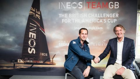 Ben Ainslie ends Land Rover deal with £153m America's Cup sponsorship from Jim Ratcliffe's INEOS.