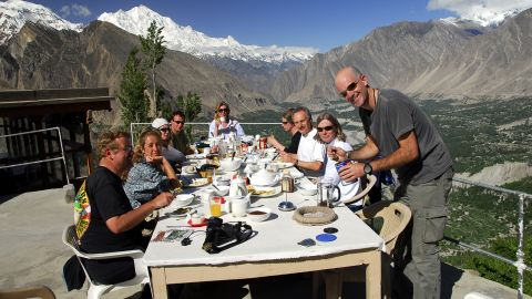 """<strong>Hunza Valley: </strong> """"In Hunza [a mountainous valley in the Gilgit-Baltistan region], you can sit on the rooftop at your hotel having breakfast and you've got seven 7,000 meter peaks all around you, which is pretty incredible,"""" says Wild Frontiers founder Jonny Bealby."""