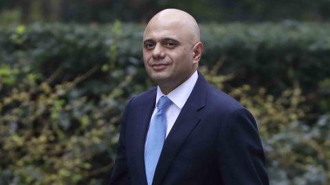 Britain's new Home Secretary Sajid Javid.