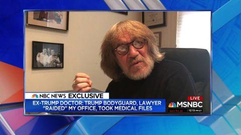 Dr. Harold Bornstein MSNBC
