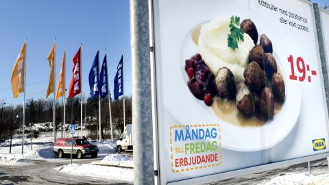Swedish meatballs are available in IKEA superstores around the world -- one reason for their global fame.