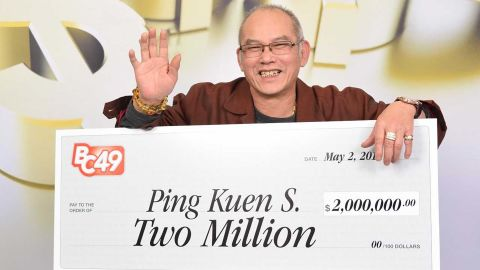 Ping Kuen Shum, had a birthday, retired and became a millionaire on the same day.