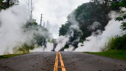 The eruption of Kilauea came after a series of earthquakes.