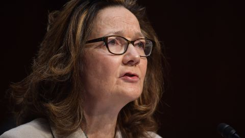 Gina Haspel testifies before the Senate Intelligence Committee on her nomination to be the next CIA director in the Hart Senate Office Building on Capitol Hill in Washington, DC on May 9, 2018. (Photo by MANDEL NGAN / AFP)        (Photo credit should read MANDEL NGAN/AFP/Getty Images)