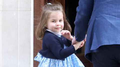 """One of the most famous Charlottes of today is surely the British princess, whose parents are Prince William, Duke of Cambridge, and Catherine, Duchess of Cambridge. Her Royal Highness Princess Charlotte Elizabeth Diana of Cambridge was born May 2, 2015, and recently became a big sister to <a href=""""https://www.cnn.com/2018/04/27/europe/royal-baby-name-intl/index.html"""">Louis Arthur Charles, born in April 2018</a>."""