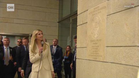 steven mnuchin ivanka trump jerusalem embassy plaque sot_00001225.jpg