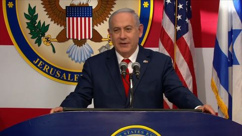 Netanyahu thanks US President Donald Trump for moving the Embassy.