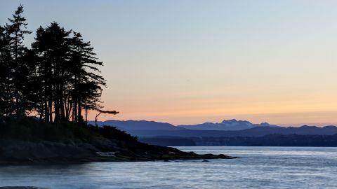 Gabriola Island in British Columbia, where the latest foot was found.