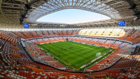 <strong>Mordovia Arena World Cup schedule:</strong> Group stage<br /><strong>Legacy: </strong>With a population of just 300,000, Saransk is the smallest of the 2018 World Cup host cities. After the tournament, some of the stadium's temporary structures will be demolished, reducing the capacity to 25,000. It will become the home of third-tier side FC Mordovia.