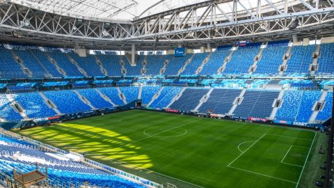 <strong>St. Petersburg Stadium World Cup schedule: </strong>Group stage, last 16, semifinal, third-place playoff<br /><strong>Legacy</strong>: The 67,000-seater will regain its former name -- Krestovsky Stadium -- and be home to 2007-08 UEFA Cup winners Zenit St. Petersburg.