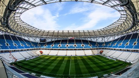 <strong>Volgograd Arena World Cup schedule: </strong>Group stage <br /><strong>Legacy</strong>: The 45,000-seater will become the home ground of second-tier side FC Rotor Vologograd.
