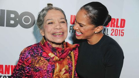 Raven Wilkinson and Misty Copeland in 2015.