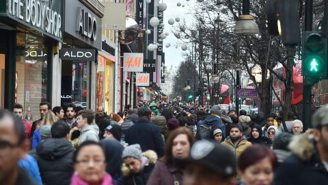 London - London landed third place with a 51.7% international retailer presence in 2017, leading the way in the European market. But CBRE's research saw a dip of 1.3 percentage points from 2016.