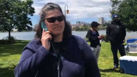 OAKLAND (KRON) - A family's weekend barbecue outing at a popular East Bay spot had the potential of turning seriously ugly.   Police were called in because of a dispute about where people can set up their charcoal grills.