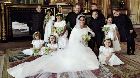 """""""The Duke and Duchess of Sussex have released three official photographs from their Wedding day. These photographs were taken by photographer Alexi Lubomirski at Windsor Castle, following the carriage procession."""""""