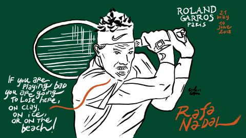 Rafa Nadal is favorite to take the men's singles title, which would be his 11th grand slam victory on the clay.